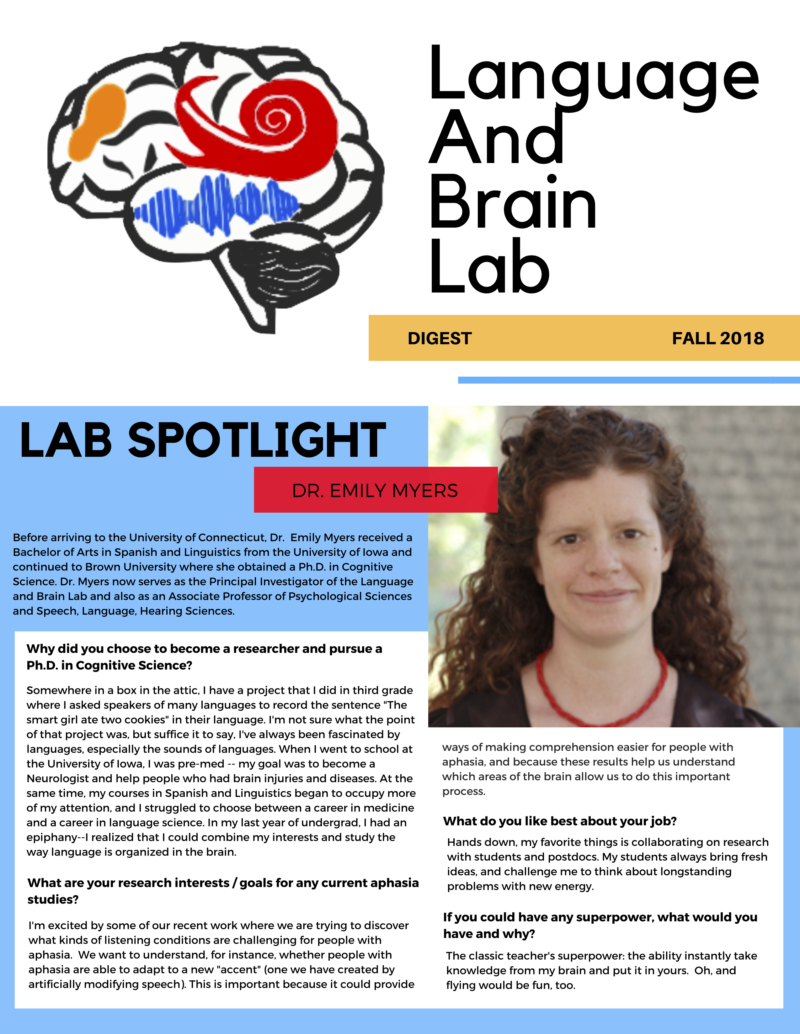 Able Accounts Make Debut >> Lab Lab Digest Fall 2018 Language And Brain Lab